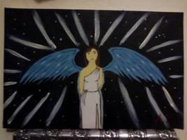 night time angel by Lana-445