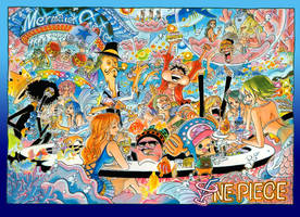 One Piece Colorspread Chapter 724 by StarDrummer