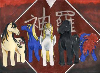 Shinra on Hooves by koyasufan