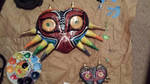 majora's mask cosplay progress by DaroUsata