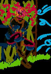 Prince Vartan at the Rose Garden - Inks by CashlinSnow