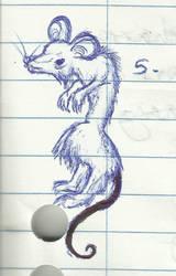Aw, rats by aconitecat
