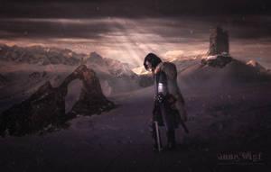 Cold Dark Land by annewipf