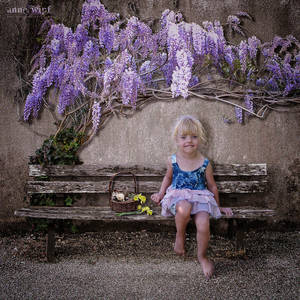 Easter Bench by annewipf