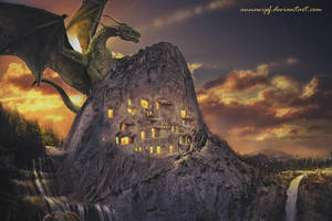 Dragon Mountain by annewipf
