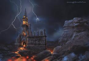 Dark Church by annewipf