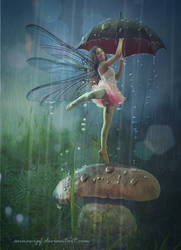 Dancing in the Rain by annewipf