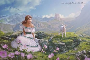 Shepherdess by annewipf