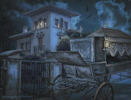Halloween Night by annewipf