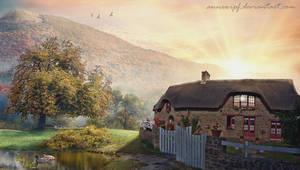Autumn Serenity by annewipf
