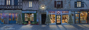 Christmas Street by annewipf