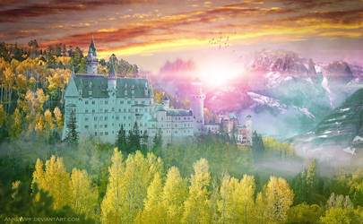 Fairytale Castle by annewipf