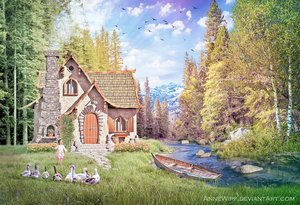 Woodland Cottage by annewipf