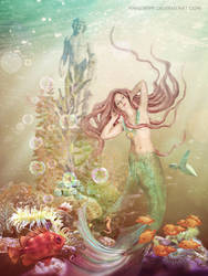 The Little Mermaid by annewipf