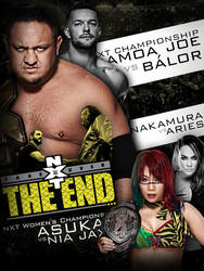 NXT The End - Custom Poster by DGLProductions