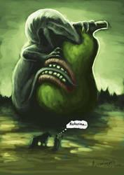 Just bad dream by Azraelangelo