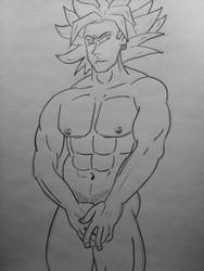 bashful Broly body by DoomBerry83