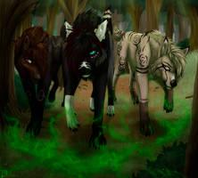 The hunters [comm] by Dachiia