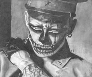 Kyo fanart (Tribal Tattoo) by PookaaNeko