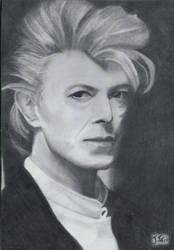 Bowie Fanart by PookaaNeko
