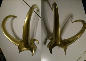 Lady Loki Headress by WulWhite