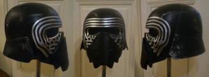 Kylo Ren helmet by WulWhite