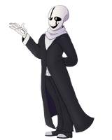 Gaster Alive by MeannCat