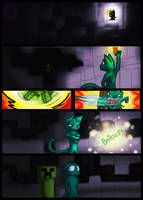 Minecraft Creepers by whiteicepanther