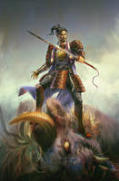 The Swordsman by hubbleTea