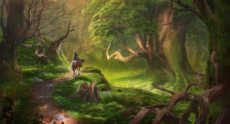 Lost Woods by hubbleTea