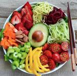 raw veggies by VEGAN-LOVE