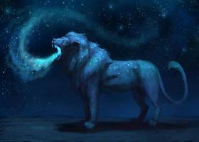Galaxy Lion by JadeMerien