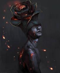 Charcoal by JadeMerien