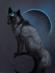 Moon by JadeMerien