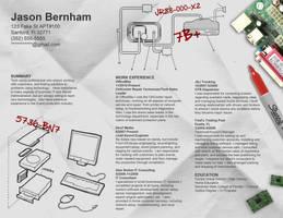 Resume - Computer Repair by rkaponm