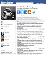 Resume - Social Network Adv. by rkaponm