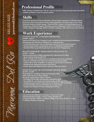Resume - Medical Expert by rkaponm