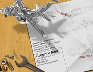 Resume - Airplane Repair by rkaponm