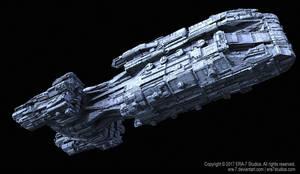 Spaceship Design - WIP I by ERA-7S