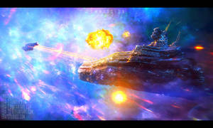 Space Battle by ERA-7S