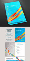 Whirls Technology A4 10-page Brochure Template by ramijames