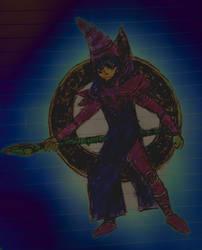 Dark Magician by TheOnePikaKid