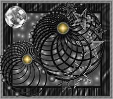Black Spirals by renatamag