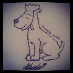 King Milou/ Snowy by Michaela-Saade