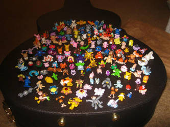 150 clay pokemon by thedaughterofalec