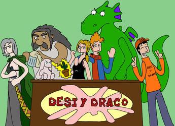 Fan Art de Desi Y Draco by GonzaHerMeg