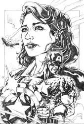Captain America by J-Garou