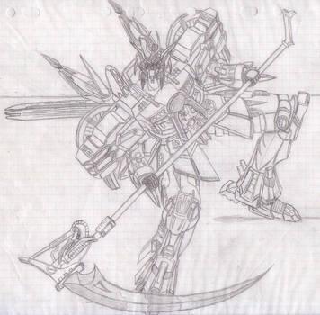 Robot: Gear Striker 04 by Warkom