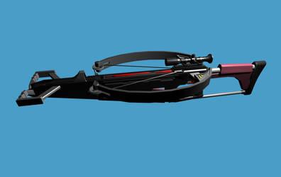 Reverse Multishot Explosive Crossbow by Warkom