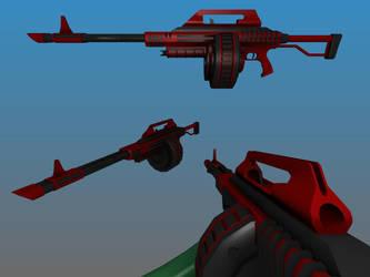 Assault Super Shotgun 3D by Warkom